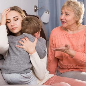 30年前に子育てしていた母親(姑)は子育てのベテランではない