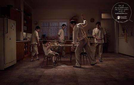 児童虐待防止啓発広告