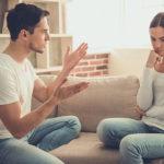 落ち着いて話ができない人とは話し合いで解決ができないということ